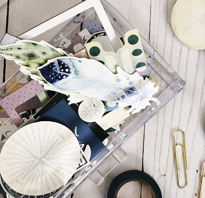 How I Organize My Cocoa Daisy Kits for Easy-Access All Month Long!