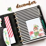 December Holiday Disc Bound Planner