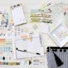 January 2019 Daisy Dori Mini Planner Kit (Paper & Ink)