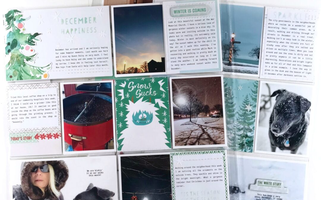 November Project Life Pocket Inspiration