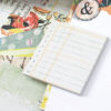 January 2019 More Ledger Square Sticky Notes from Planner Kit