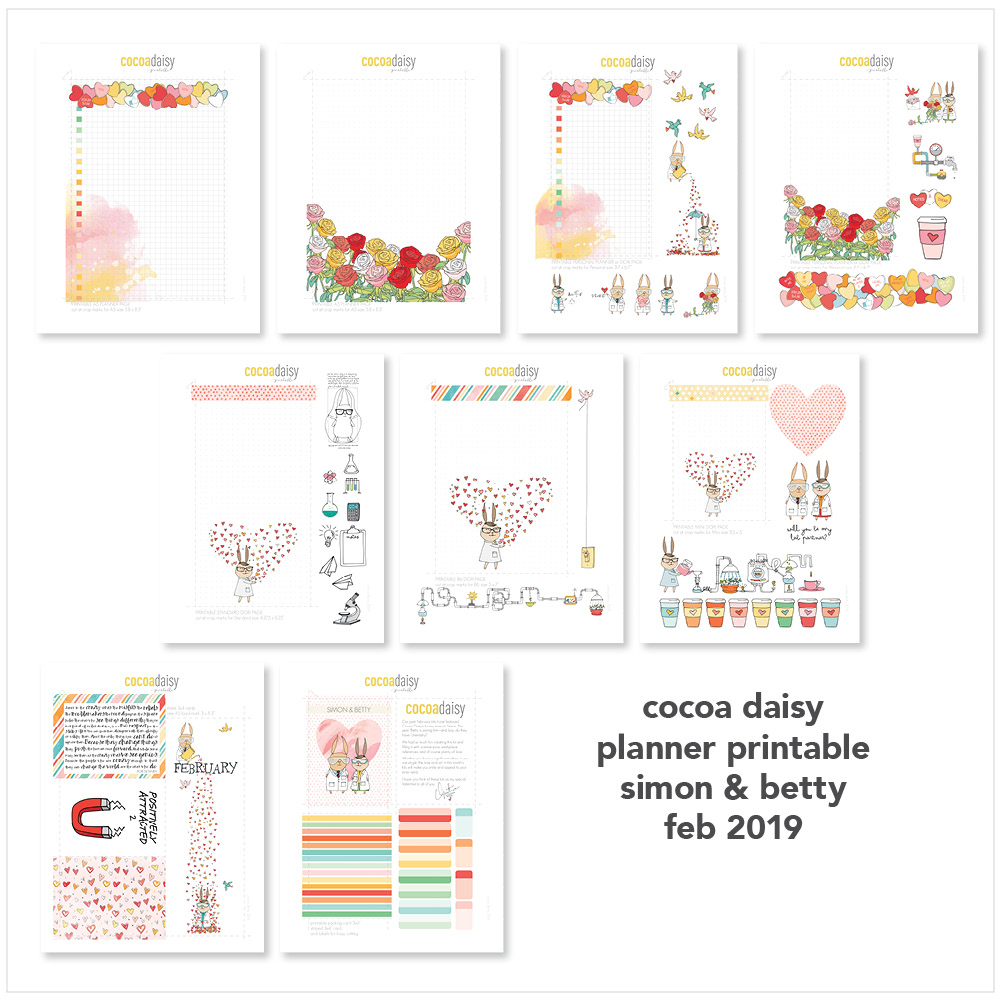 Daisy Day Planner Downloads