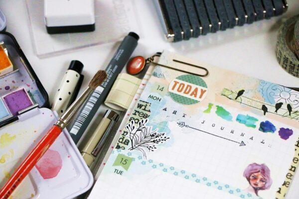 Easy Art journaling