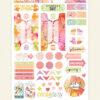 March 2019 Planner Stickers (Fresh Cut)