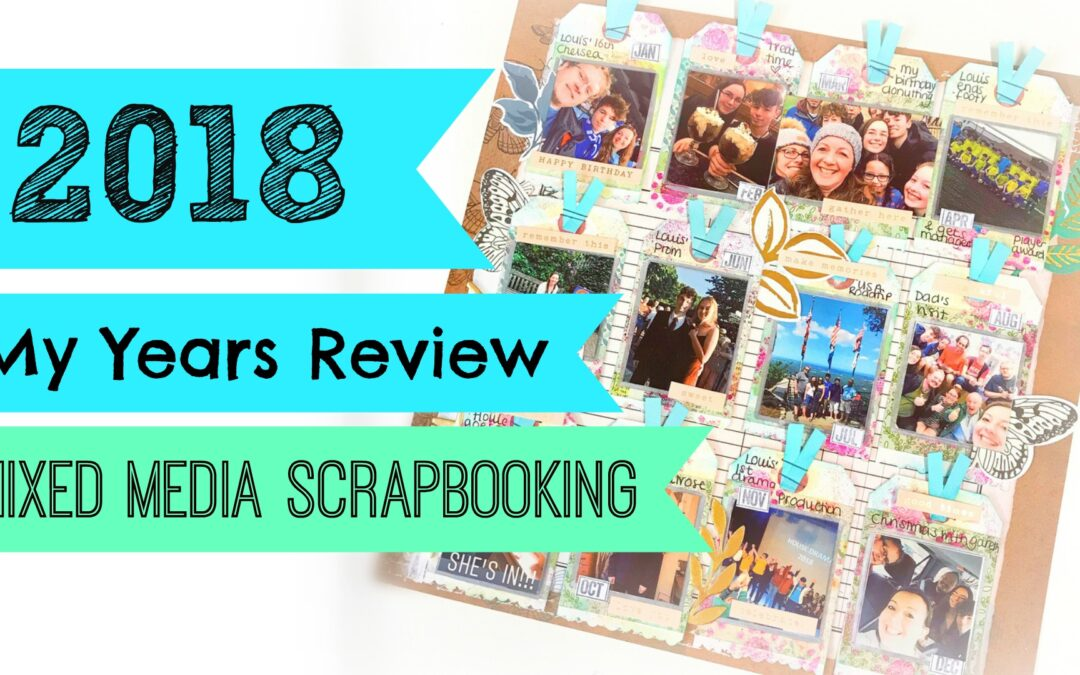My Years Review Page / Good Bye 2018 – with video