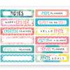 April 2019 Tab Label Stickers (Cherish Blossom)