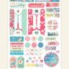 April 2019 Planner Stickers (Cherish Blossom)