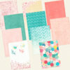 Extra Papers from Memory Keeping Kits (Cherish Blossom)