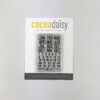 Small Calendar Stamp Set from Paper & Ink Classified: Memory Keeping Edition