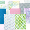 Extra Papers from Memory Keeping Kits (Picket Fence)