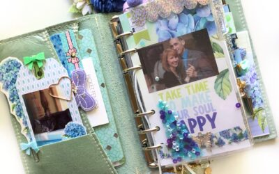 May Planner Set Up with Picket Fences & Video