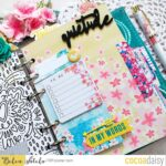 April Cocoa Daisy Planner Flip Through
