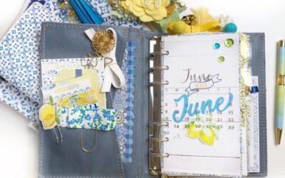June Planner Set Up with Lemon Grove & Video