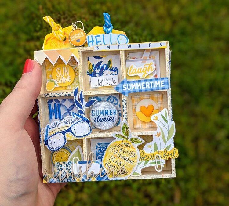 Lemon Grove Memory Keeping Guest Designer Love