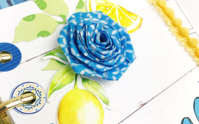 How to make Washi Roses.