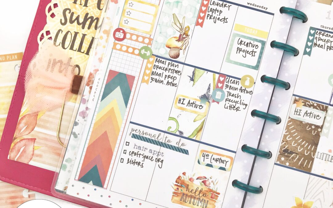 October Plan with Me (and a quick tip!)
