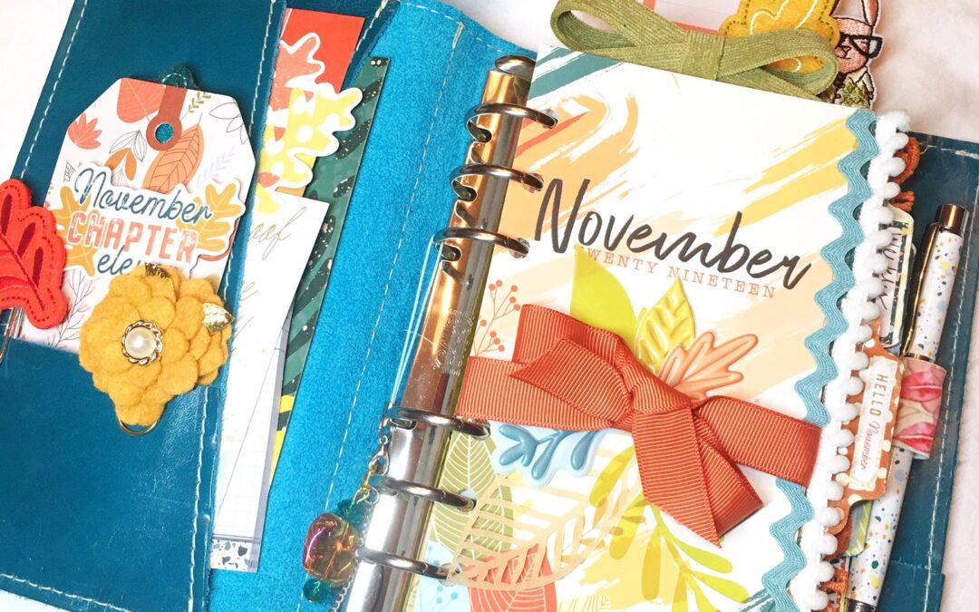 November Planner Set Up