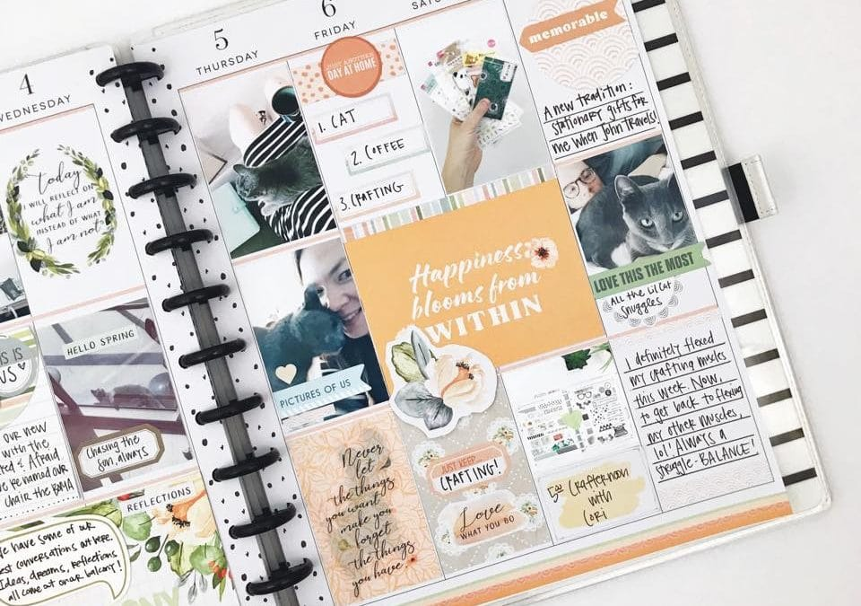 Memory Keeping Planner Inspiration
