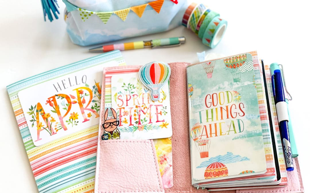 Up and Away! April Planner Set Up & Video