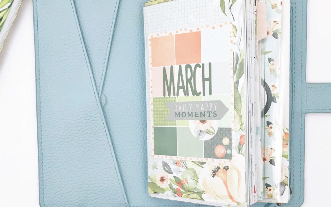 March Setup and First Week with Daisy Weeks Booklet