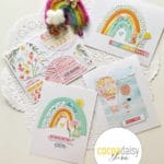 Fun Cards with Cocoa Daisy Up and Away Papers