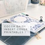NEW Cocoa Daisy Insert Cover | Tulip Time