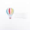 Embroidery Hot Air Balloon Patch and Adhesive Pen Loop