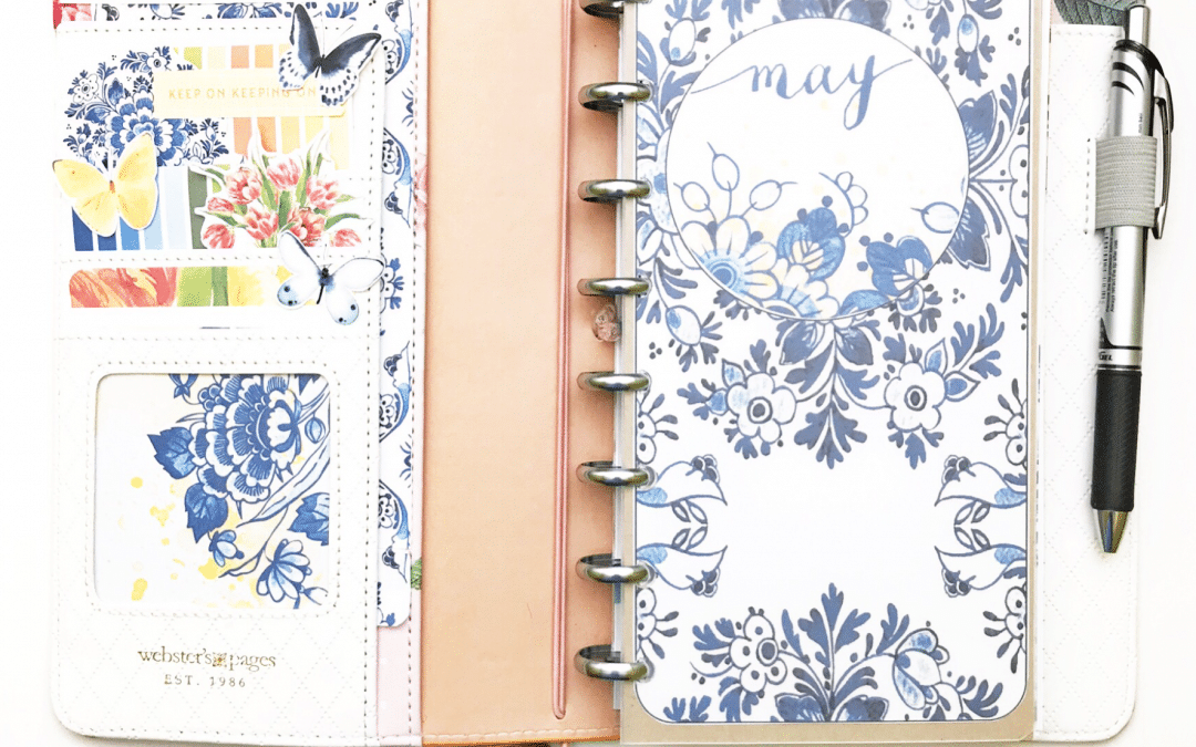 May Planner Setup with the Tulip Time Printables
