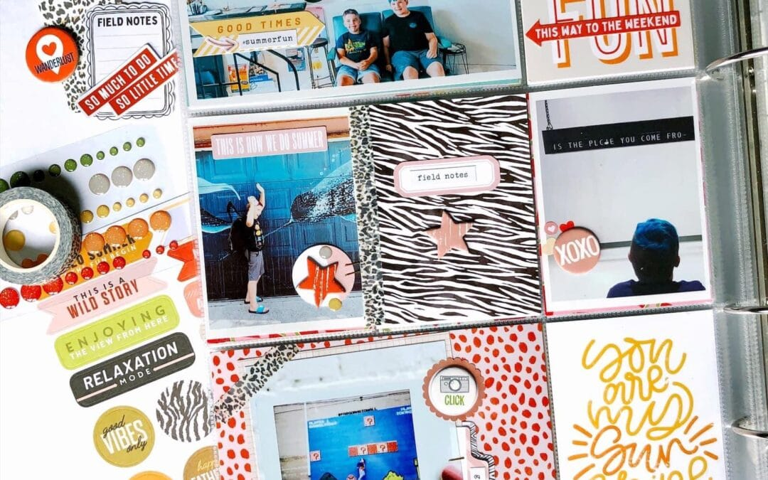 Memory Keeping Flip-Up and Fold-Out Ideas