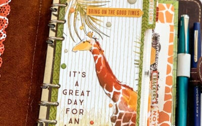 June Planner Set Up – hurray for personal rings again!