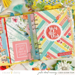 Backyard Blooms A5 Planner Set Up & Flip Through