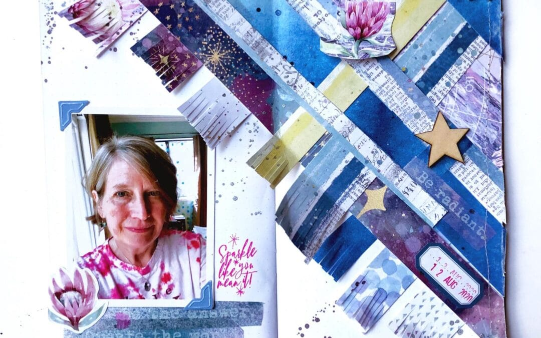 TN Tuesday: Creating Layouts on the Diagonal in your Notebooks and Planners