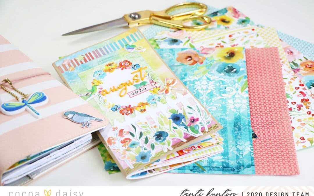 Fun ways to use your patterned papers.