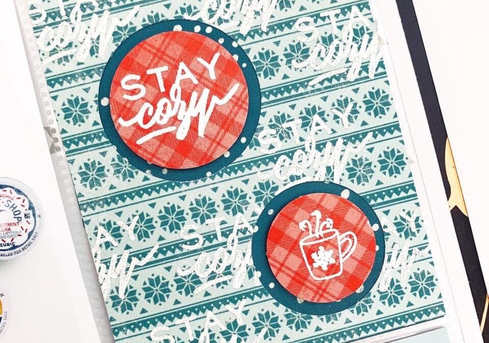 Sensational Stamping for Your December Pages
