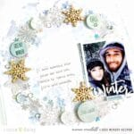 Creating Layers and Interest with Vellum Snowflakes