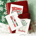 December Planner Guest Designer Recap | Sophia Ramos