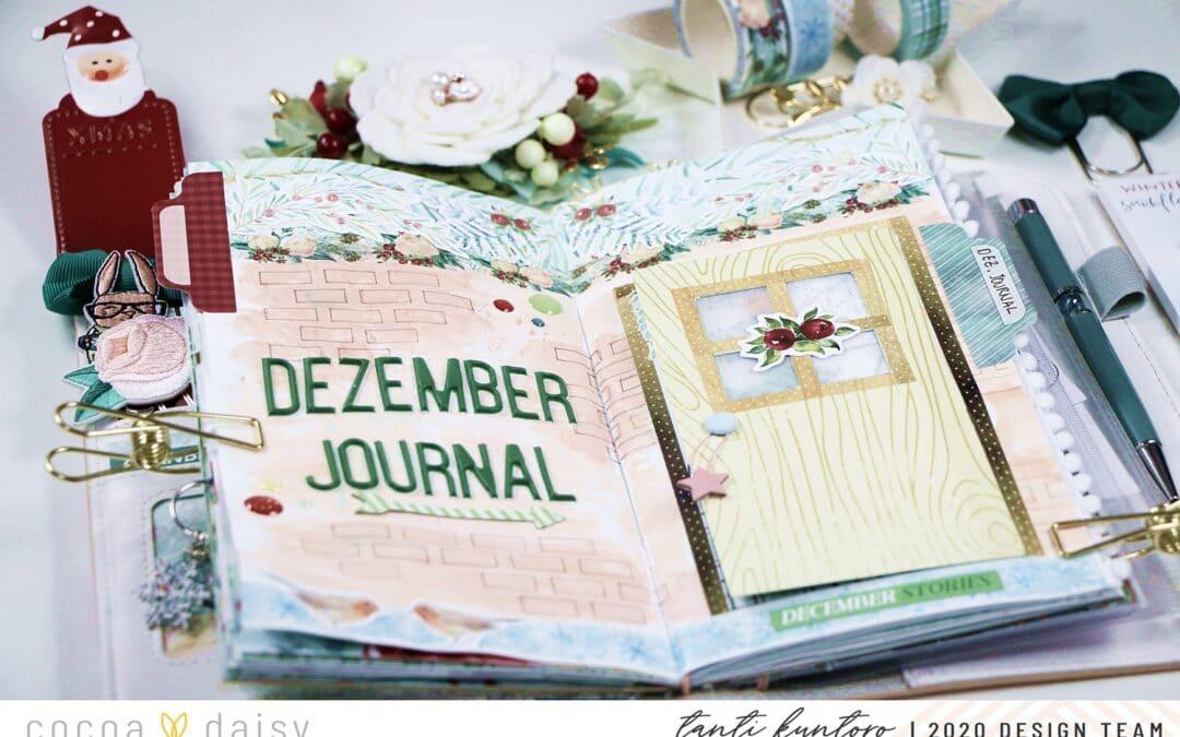 Journaling in my Daisy Dori planner.