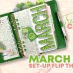 Treetop Canopy March 2021 Planner Set-Up