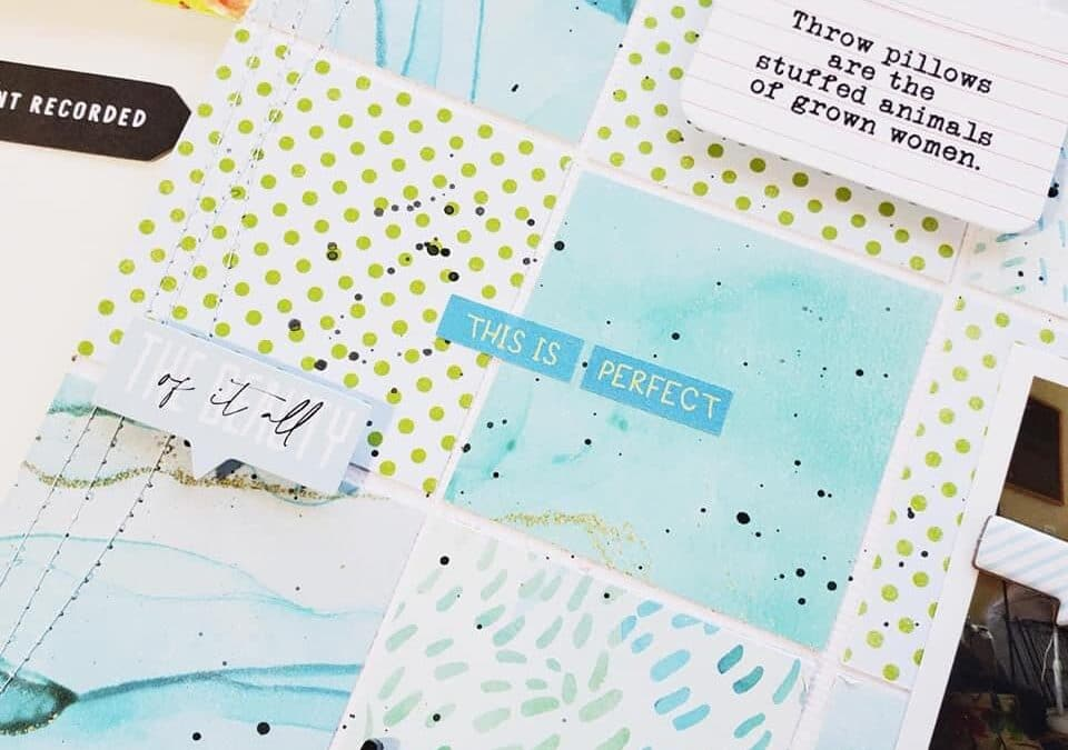 Prompted: Using Kit Elements to Inspire Your Memory Keeping