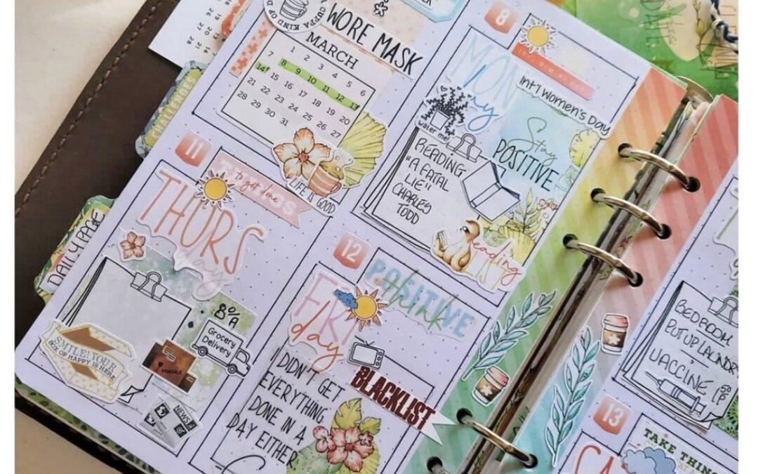 March Planner Guest Designer Recap   Carolyn Jones