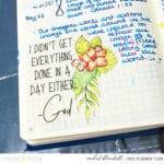 First Quarter Review – Faith Journal