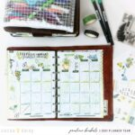 How to : month view with calendar sticker kit