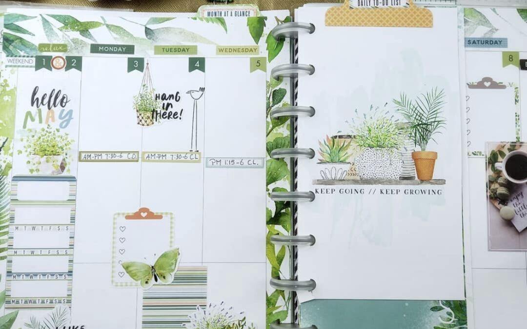 May Planner Guest Designer Recap   Petra Bulthouse