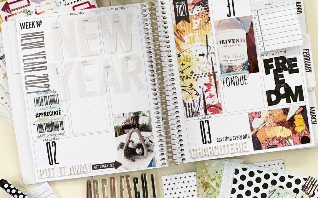 Flip Through Friday: Memory Planner Edition
