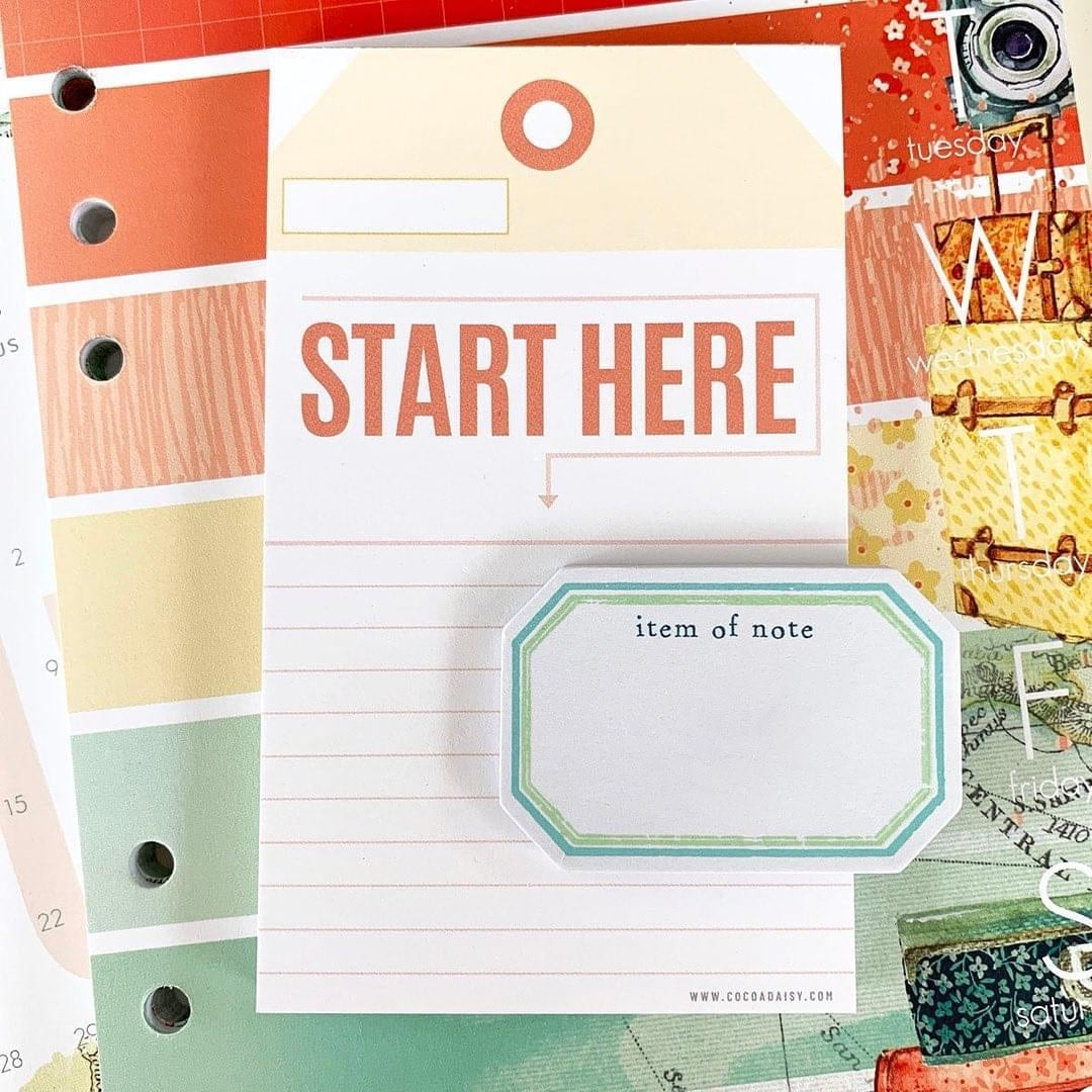 Notepads and Sticky Notes