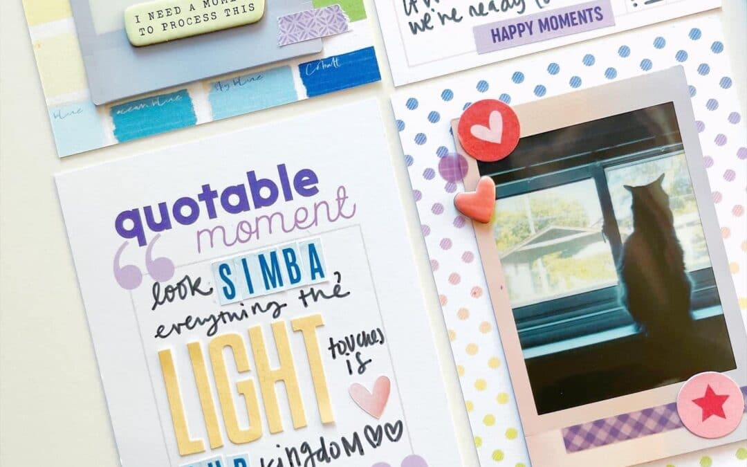Prompt Your Journaling with the Wisteria Lane Collection