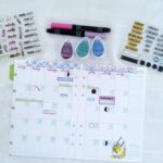 July Planner Guest Designer Recap | Aurelie Ducos