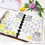Inspiring Planner Setups with the Wisteria Lane Collection