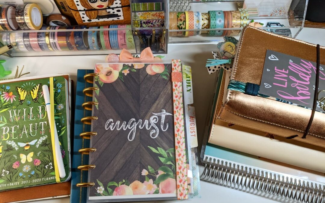 August Planner Guest Designer | Tara Vaughan