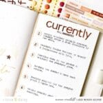 Crafting Currently Pages with the Umber and Gold Collection